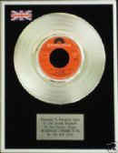 "BEE GEES - 7"" Platinum Disc - IVE GOTTA GET A MESSAGE"